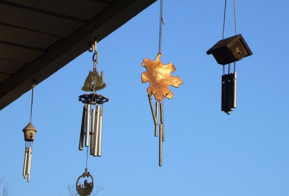 Use Wind Chimes for Feng Shui